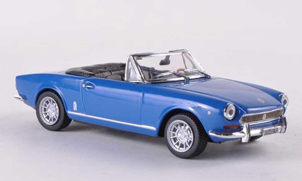 Fiat 124 Spider 1/43 Vitesse BS bleue 1970 miniature