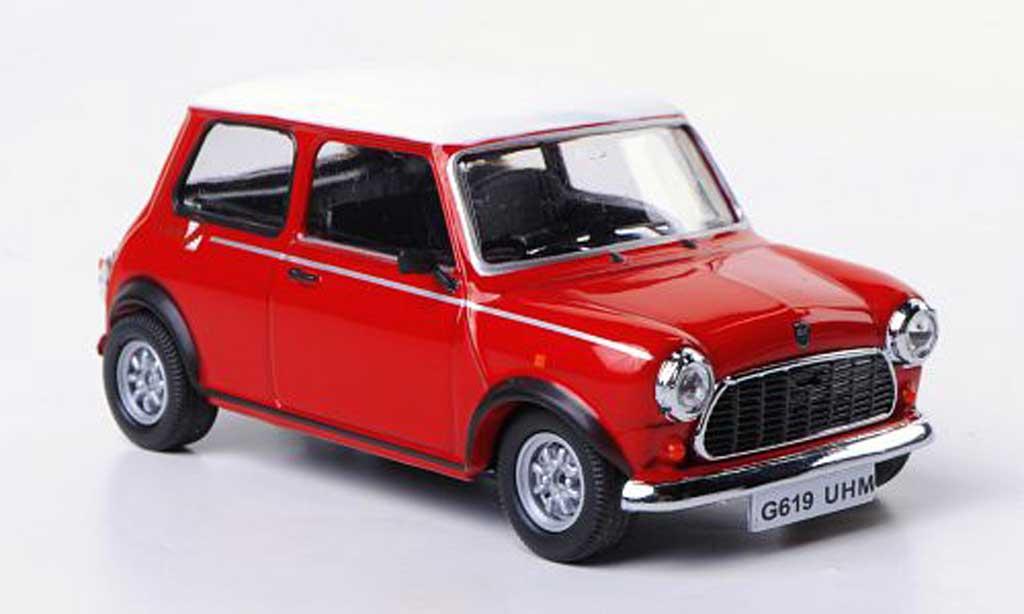 Austin Mini Cooper 1/43 Vitesse Flame Red rouge/blanche RHD 1990 miniature