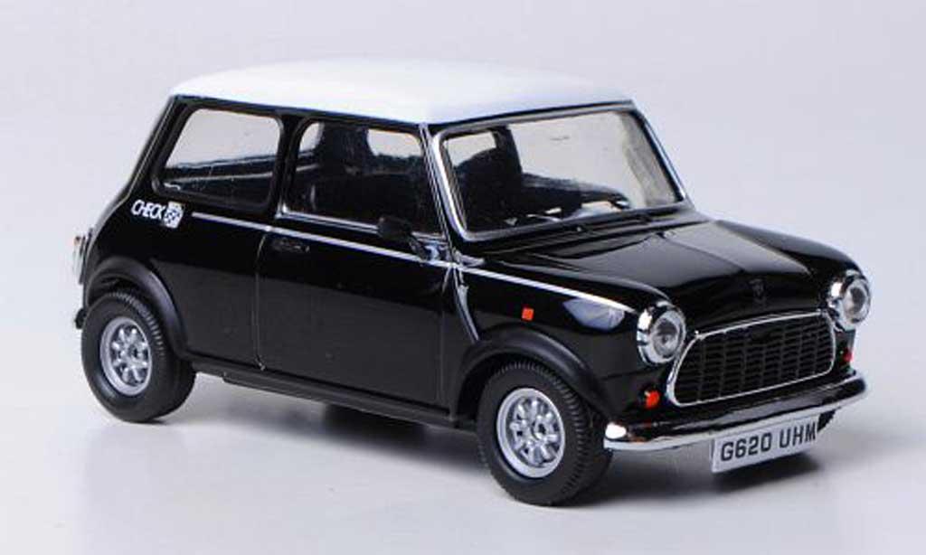 Austin Mini Cooper 1/43 Vitesse Check Mate noire/blanche RHD 1990 miniature