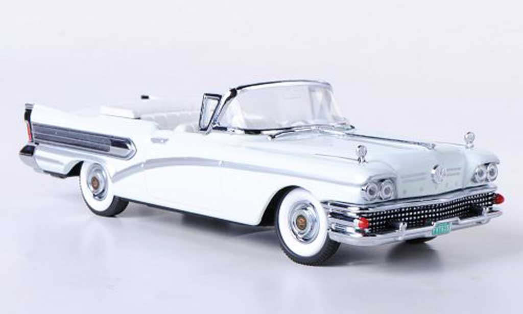 Buick Special 1/43 Vitesse white 1958 diecast