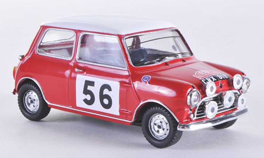 Austin Mini Rallye 1/43 Vitesse S No.56 P.Hopkirk / H.Liddon Rally Monte Carlo 1965 miniature