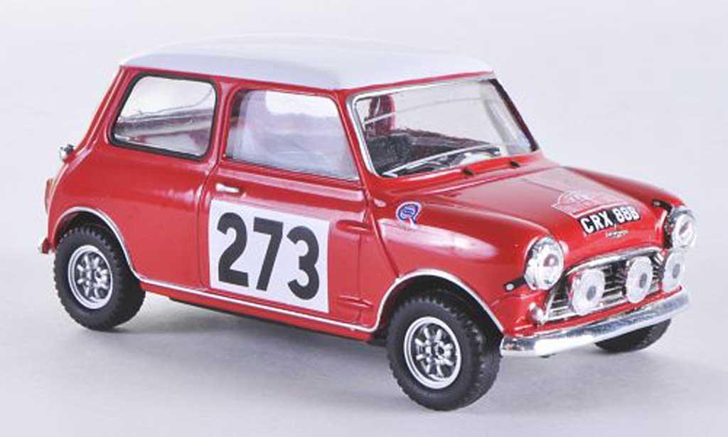 Austin Mini Rallye 1/43 Vitesse S No.273 R.Aaltonen / A.Ambpink Rally Monte Carlo 1965 miniature