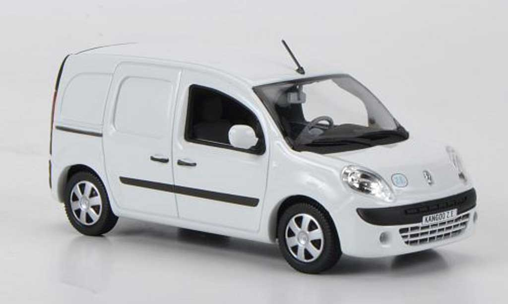 renault kangoo miniature z e kasten blanche 2011 norev 1 43 voiture. Black Bedroom Furniture Sets. Home Design Ideas