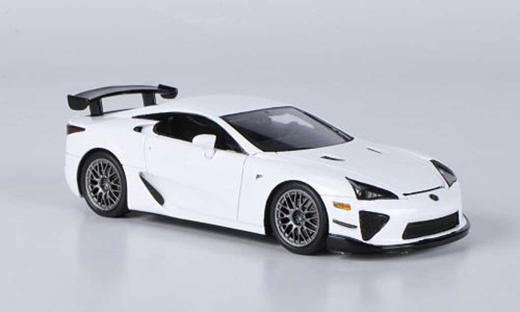 lexus lfa weiss nurburgring package ebbro modellauto 1 43 kaufen verkauf modellauto online. Black Bedroom Furniture Sets. Home Design Ideas