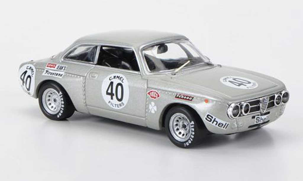 Alfa Romeo 1750 1/43 M4 No.40 Vaccarella / Berger Spa 1971 miniature