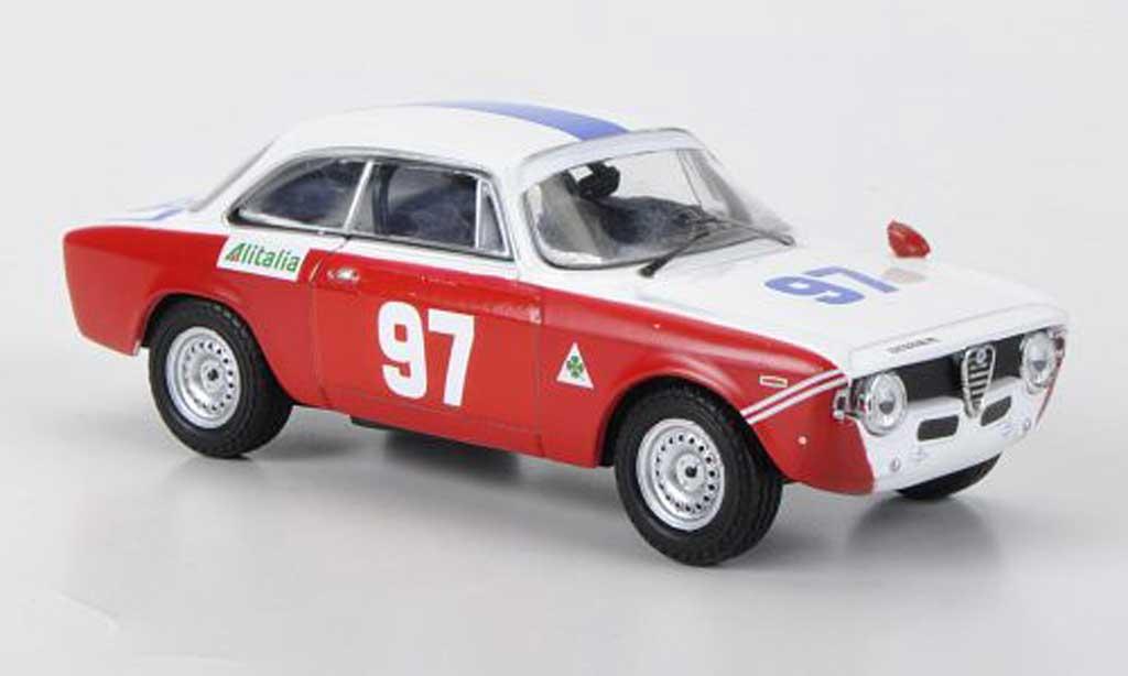 Alfa Romeo Giulia 1600 GTA 1/43 M4 No.97 Rizzo / Alongi Targa Florio 1971 miniature