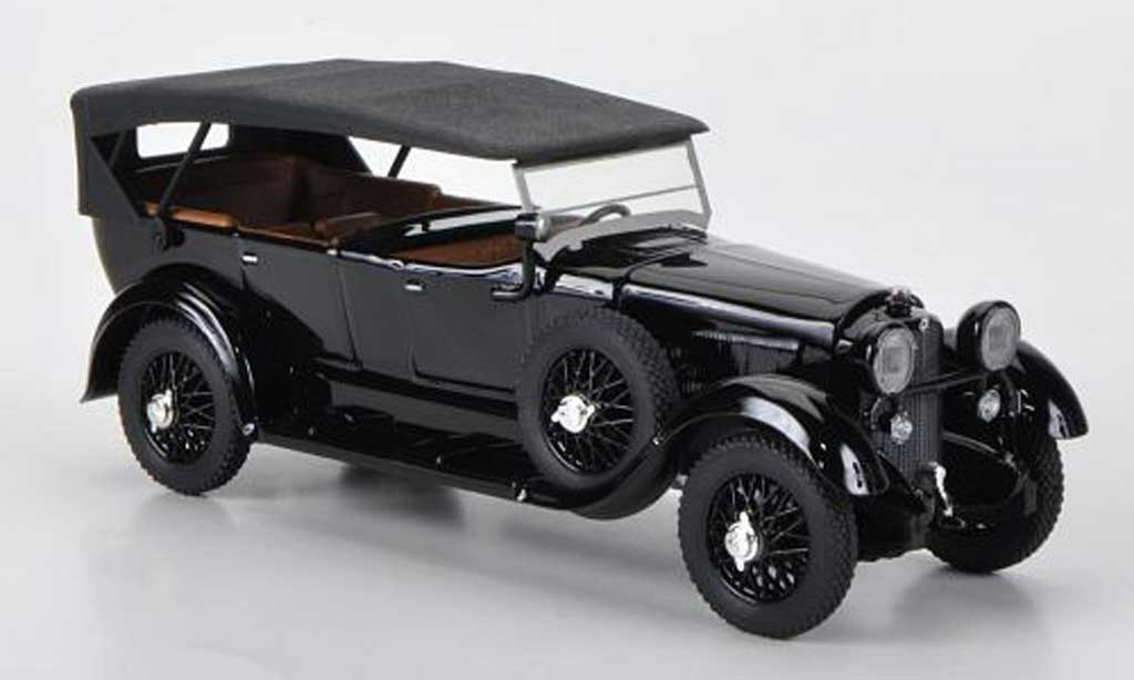 Mercedes 11/40 1/43 Rio black 1924 diecast model cars