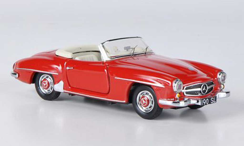 Mercedes 190 SL 1/43 Rio rouge 1955 miniature