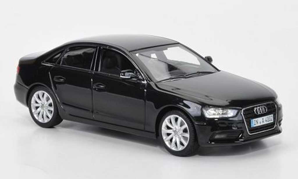 audi a4 black 2012 minichamps diecast model car 1 43 buy sell diecast car on. Black Bedroom Furniture Sets. Home Design Ideas