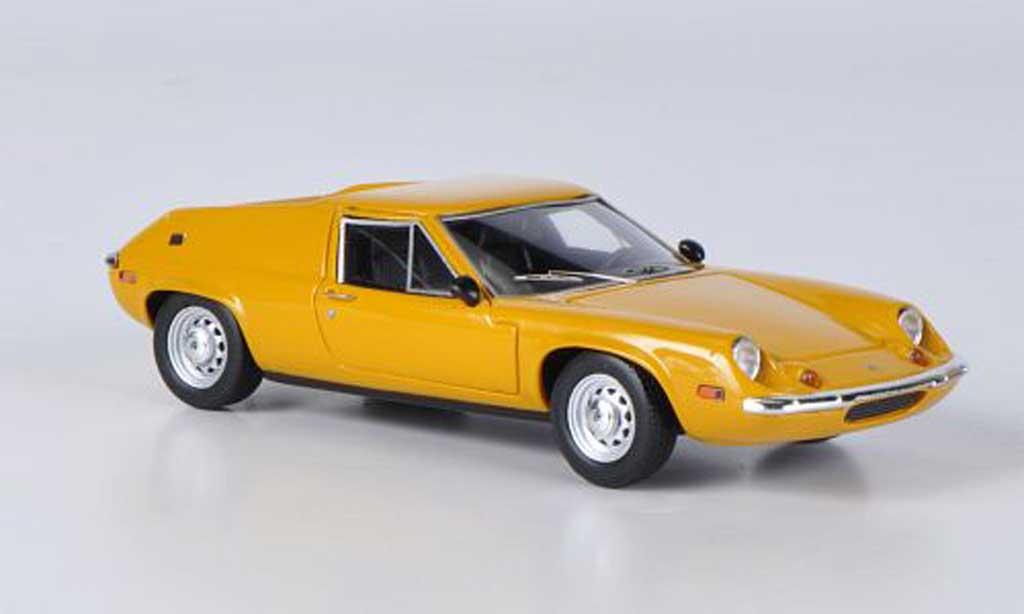 Lotus Europa 1/43 Ebbro S2 Type 65 jaune 1969 miniature