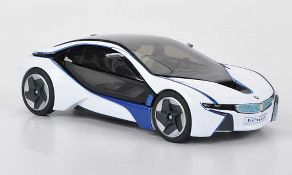 Bmw Vision 1/43 Jadi Efficient Dynamics white/bleu 2011 diecast