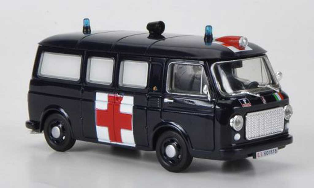 Fiat 238 1/43 Hachette Ambulanza 1969 miniature