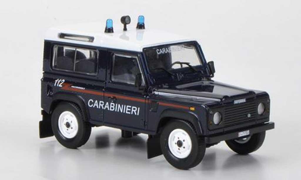 Land Rover 90 1/43 Hachette Defender Carabinieri 1995 modellautos