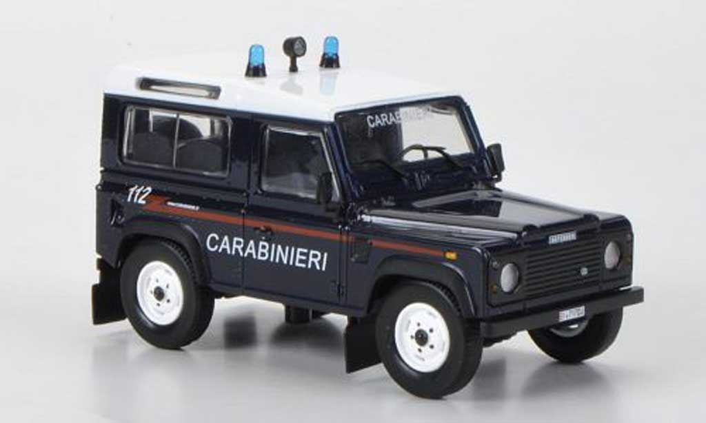 Land Rover 90 1/43 Hachette Defender Carabinieri 1995 miniatura