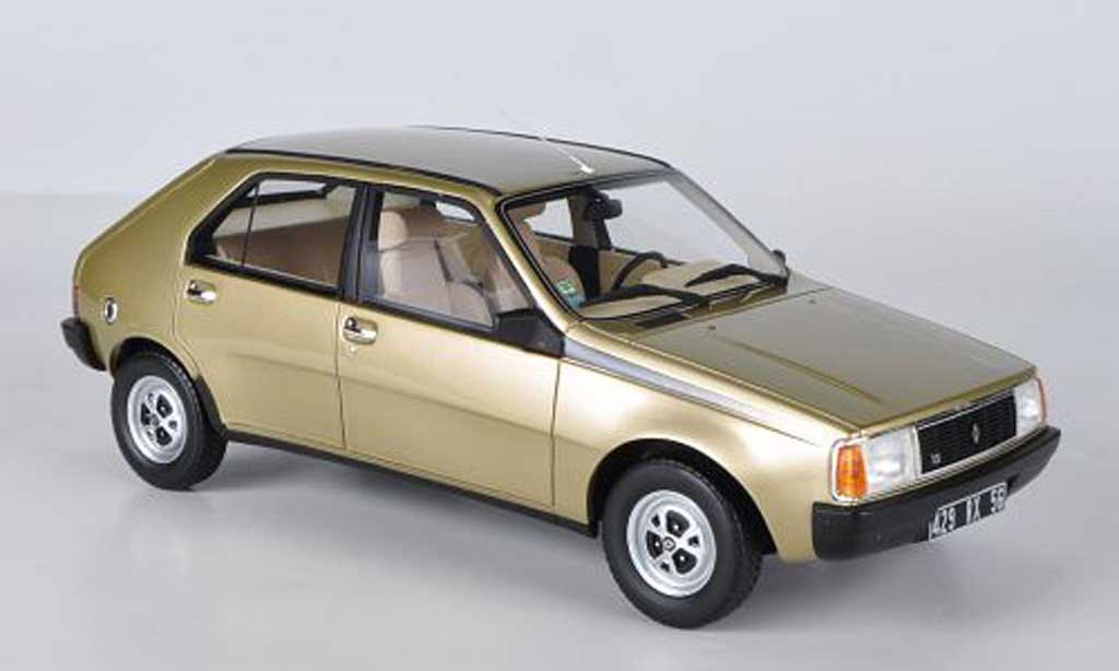 Renault 14 TS beige Ottomobile diecast model car 1/18 - Buy/Sell ...