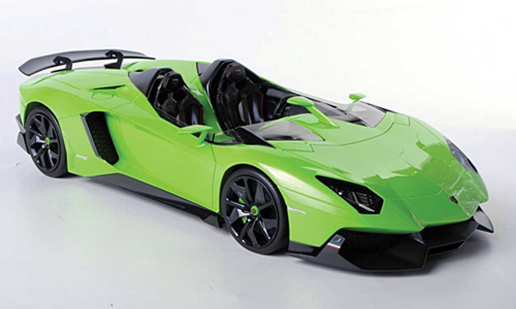 Lamborghini Aventador J 1/18 MR Collection grun 2012 miniature