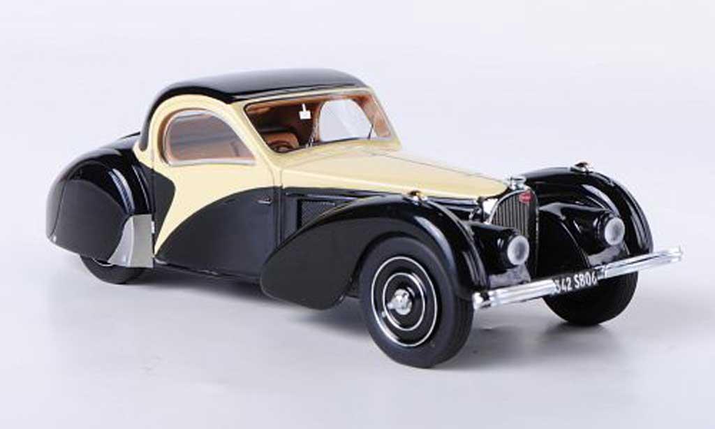 Bugatti 57 S 1/43 Look Smart noire/beige 1937 miniature