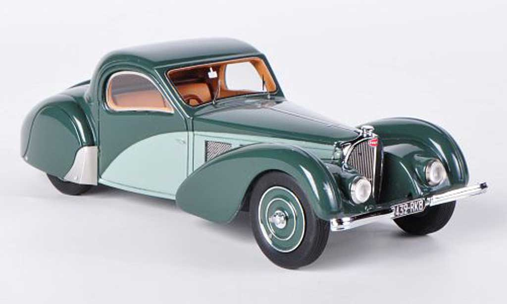 Bugatti 57 1/43 Look Smart grey grun 1937 diecast model cars