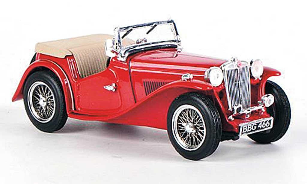MG TC 1/43 Vitesse offen rouge 1945 miniature