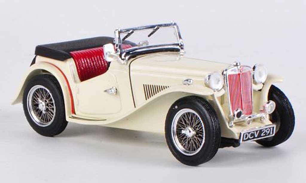 MG TC 1/43 Vitesse offen cream 1945 miniature