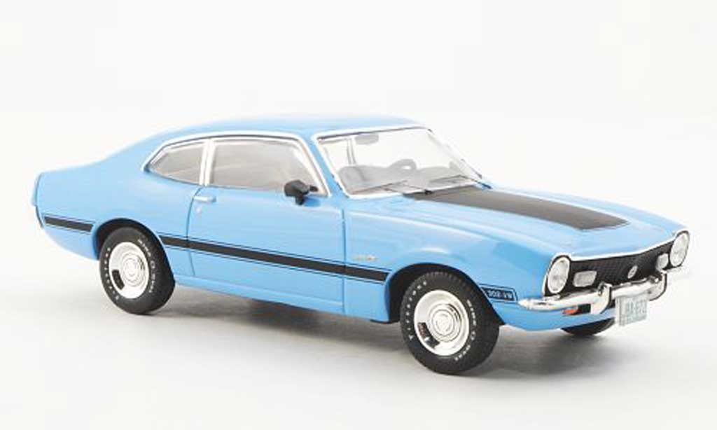 Ford Maverick 1/43 Premium X GT bleu 1974 miniature