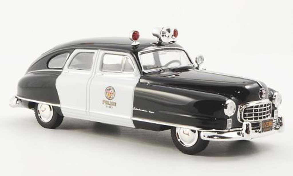 nash ambassador lapd polizei police 1950 premium x modellauto 1 43 kaufen verkauf modellauto. Black Bedroom Furniture Sets. Home Design Ideas