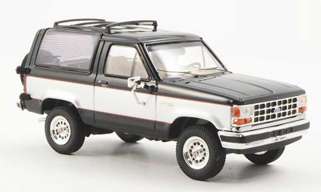 Ford Bronco 1/43 Premium X II noire/grise 1989 miniature
