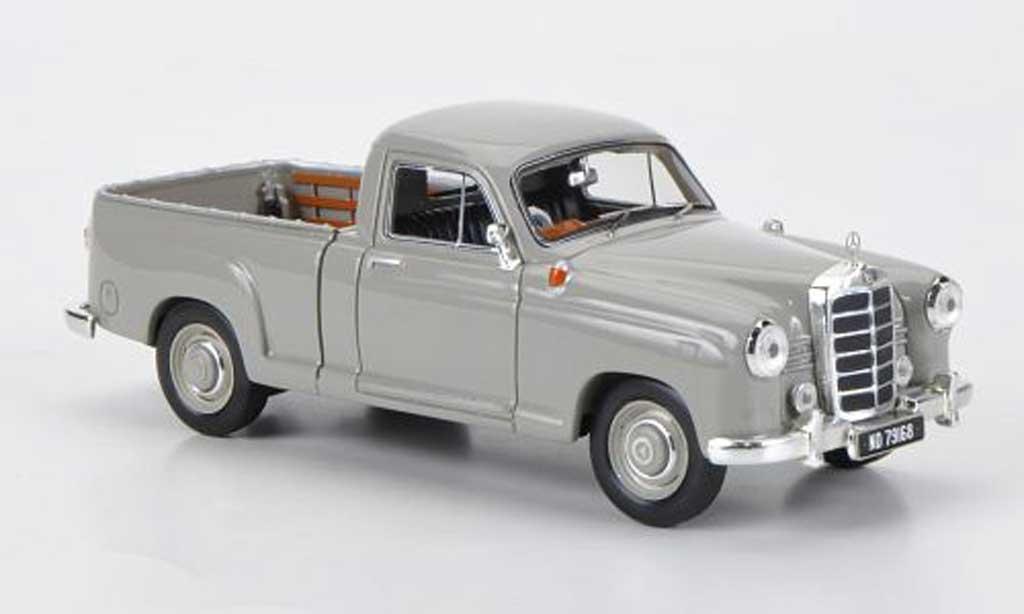 Mercedes 180 1/43 Premium X D (W120) Bakkie grise RHD 1956 miniature