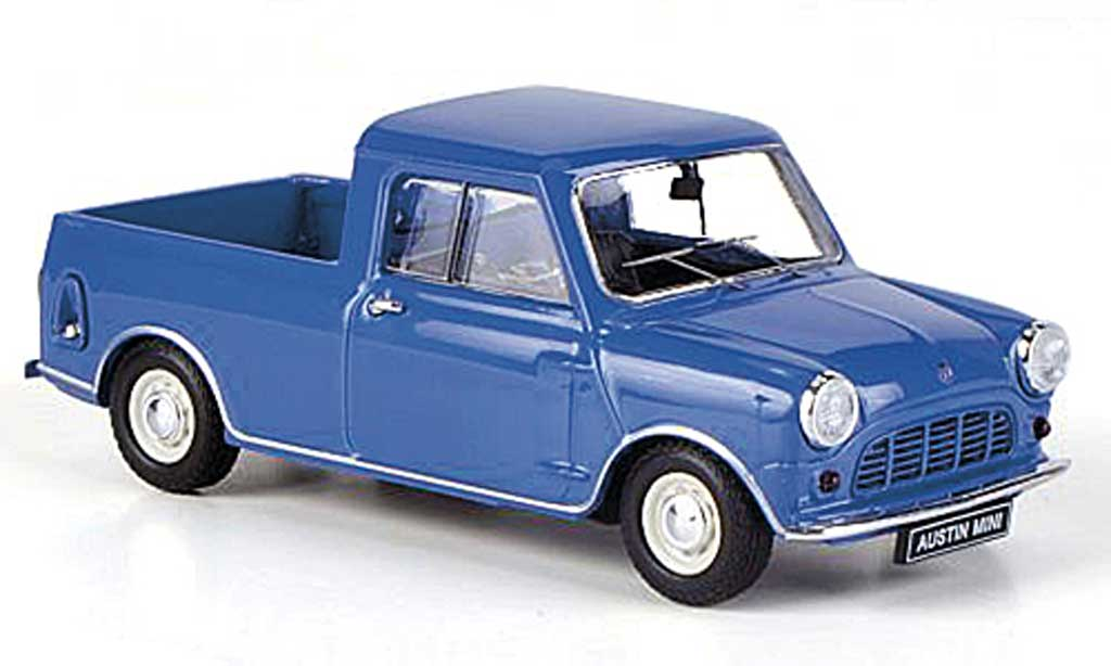 Austin Mini Pick Up 1/43 Ebbro 1/4 ton bleu RHD 1961 miniature