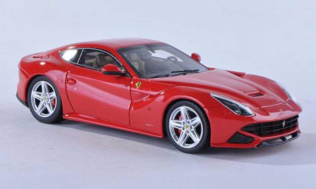 Ferrari F12 1/43 Fujimi Berlinetta rouge  2012 miniature