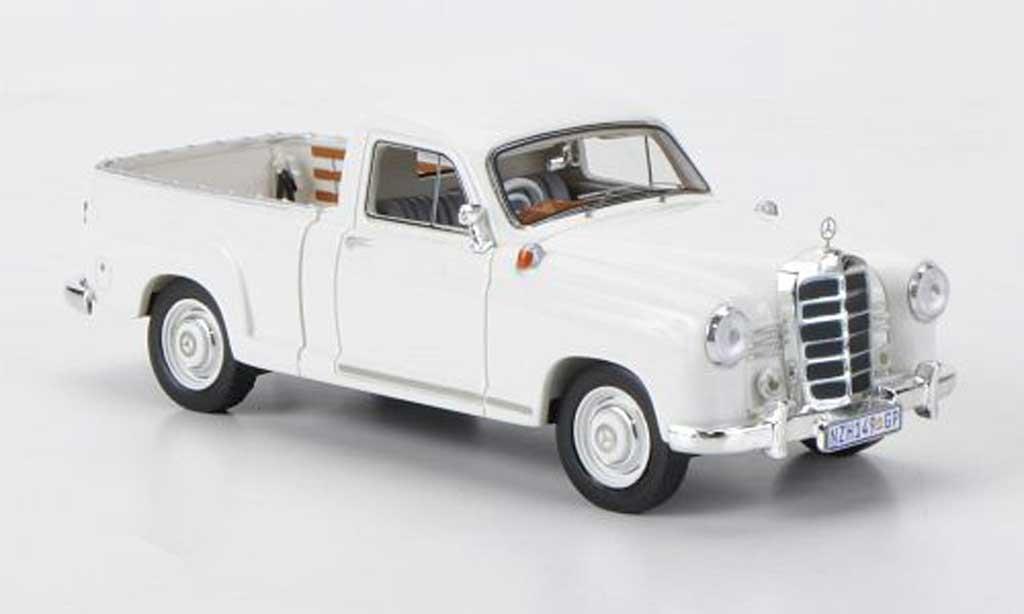 Mercedes 180 1/43 Premium X D (W120) ''Bakkie'' blanche RHD 1956 miniature