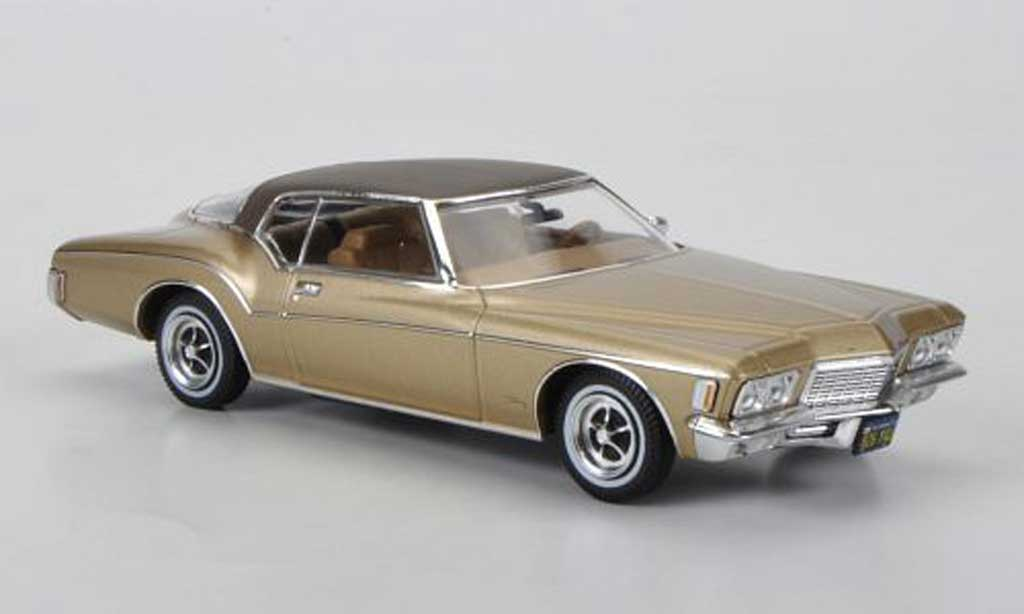 Buick Riviera 1972 1/43 Premium X Coupe gold/marron Sondermodell limitierte Auflage 750 Stuck miniature