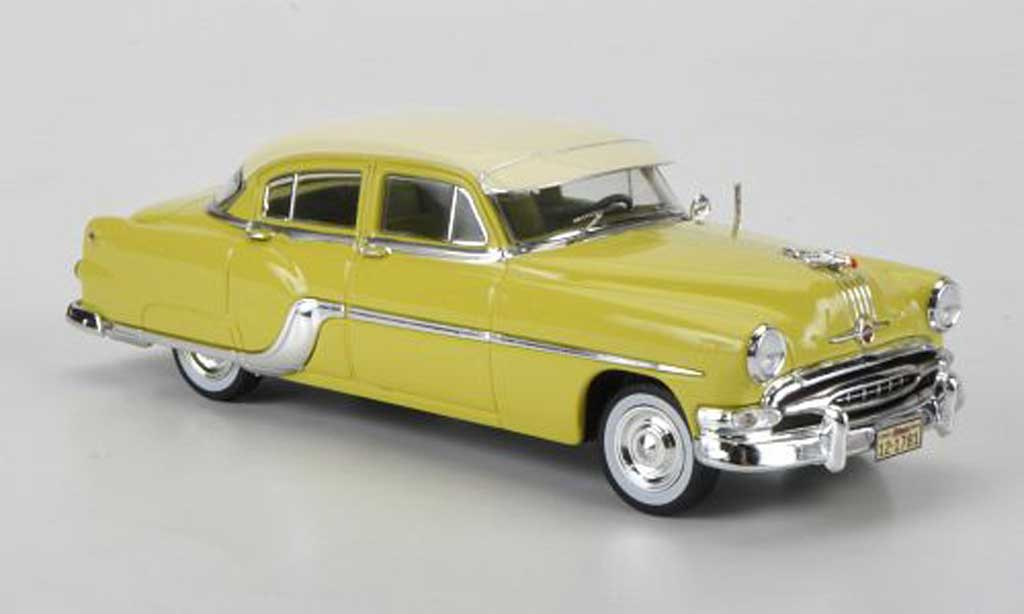 Pontiac Chieftain yellow/beige Sondermodell limited edition 1954 Premium X. Pontiac Chieftain yellow/beige Sondermodell limited edition 1954 miniature 1/43