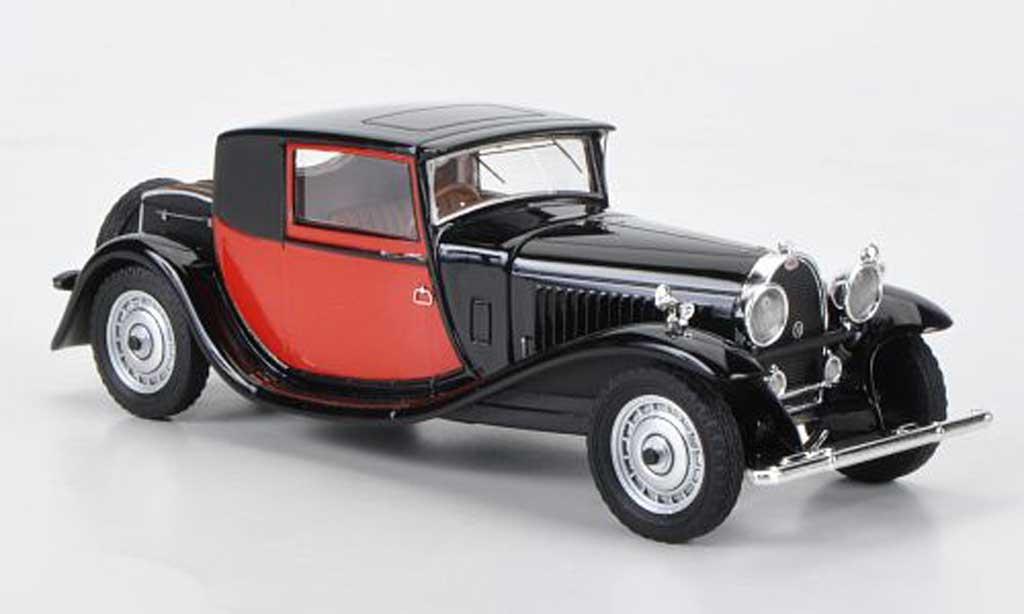 Bugatti 46 1/43 Luxcar Coupe Fiacre noire/rouge 1929 miniature