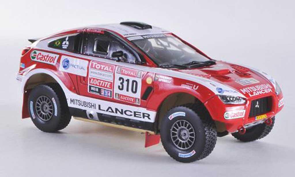 Mitsubishi Racing Lancer 1/43 Vitesse Racing Lancer No.310 G.Spinelli / H.Youssef Rally Dakar 2012 miniature