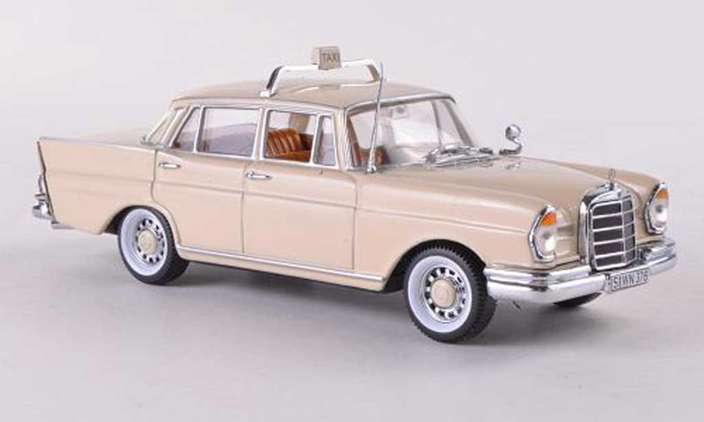 Mercedes 220 SE 1/43 Vitesse (W111) Taxi Berlin beige 1959 miniature