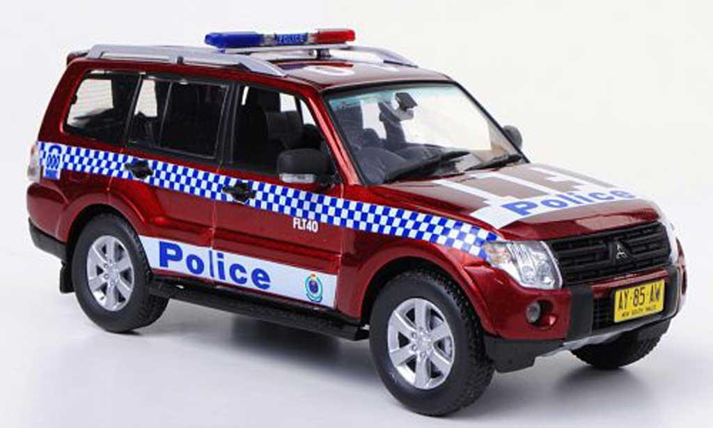 Mitsubishi Pajero 1/43 Vitesse Police Polizei Australien miniature