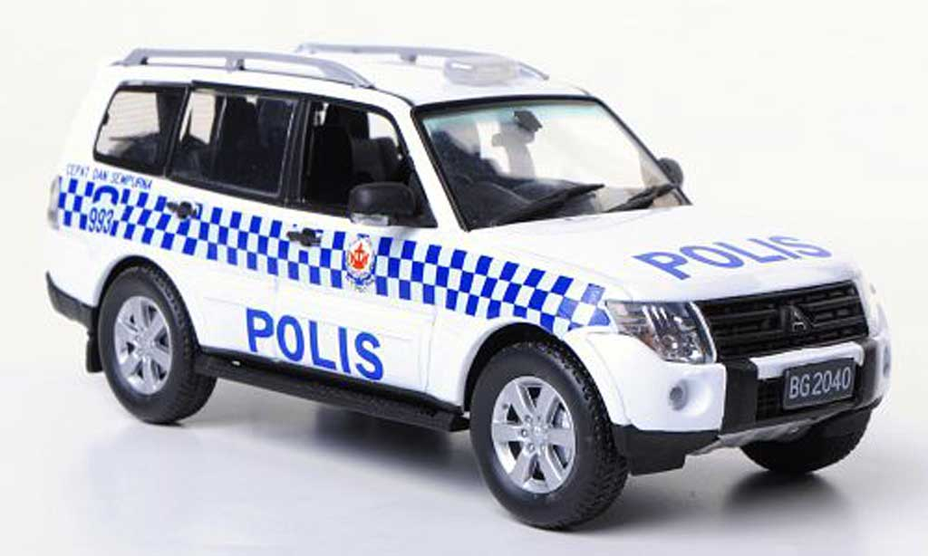 Mitsubishi Pajero 1/43 Vitesse Polis Polizei Brunei miniature