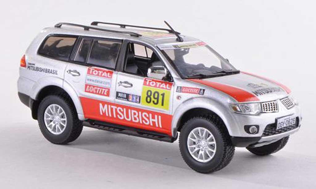 Mitsubishi Pajero Sport 1/43 Vitesse No.891 Dakar Team Service Car Rally Dakar 2012 miniature
