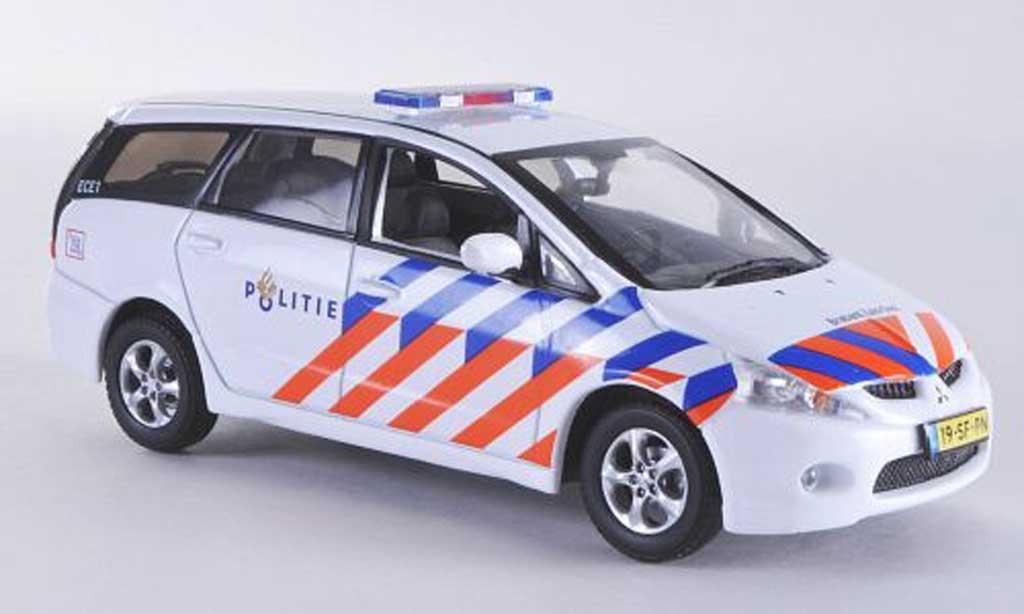 Mitsubishi Grandis 1/43 Vitesse Politie Polizei (NL) miniature