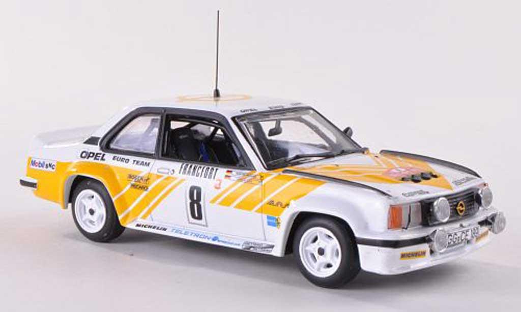 Opel Ascona B 1/43 Vitesse 400 No.8 Euro Team Rally Monte Carlo  1980 miniature