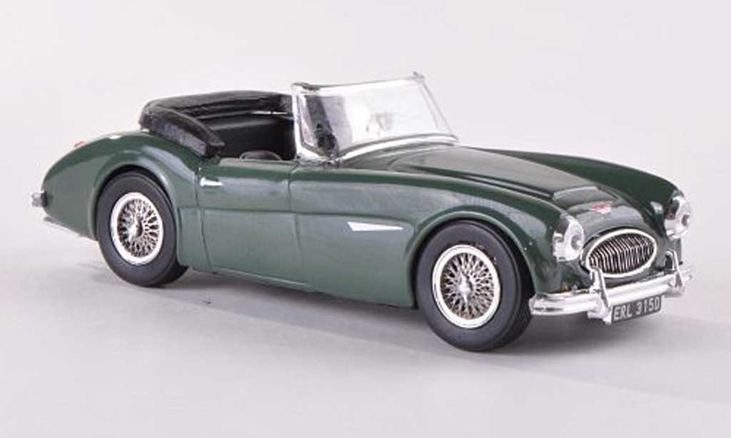 Austin Healey 3000 1/43 Vitesse grun RHD Verdeck offen miniature