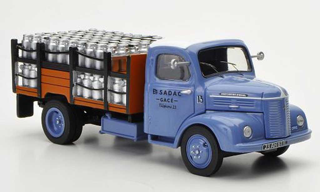 Hotchkiss PL 50 1/43 Eligor Pritsche SADAC mit Milchkannen als Ladegut miniature