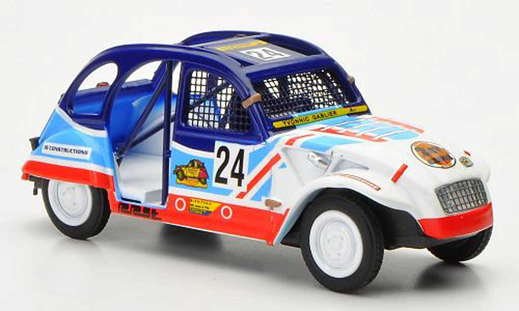 Citroen 2CV 1/43 Eligor Cross No.24 diecast