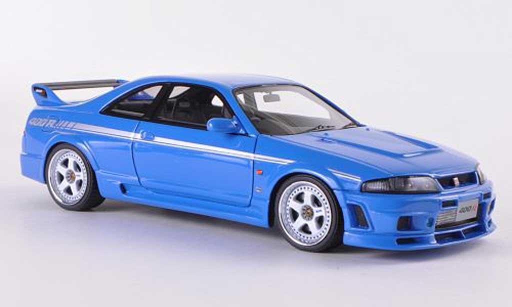 Nissan Skyline R33 1/43 HPI Nismo 400R bleu RHD miniature