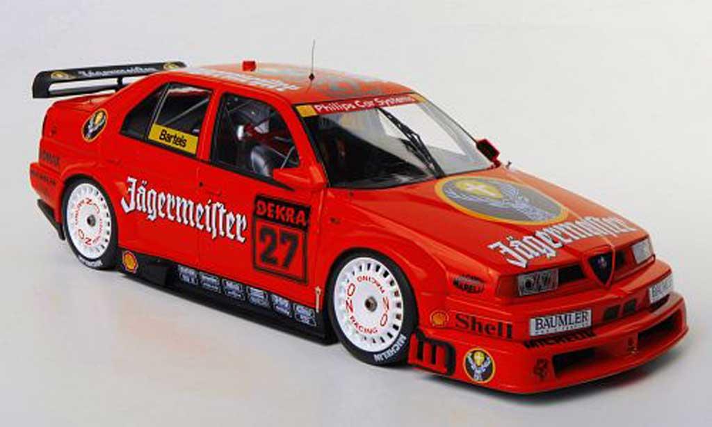 Alfa Romeo 155 1/18 HPI V6 TI No.27 Jagermeister M.Bartels DTM 1994 miniature