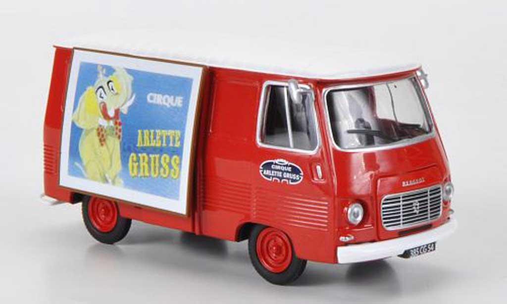Peugeot J7 1/43 Eligor Zirkus Arlette Gruss miniature