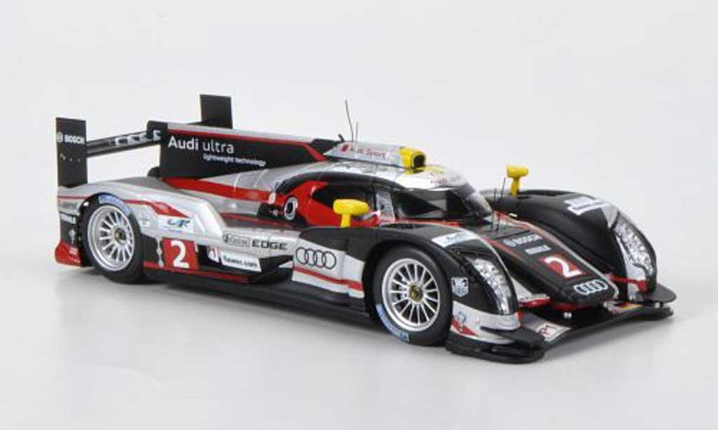 Audi R18 1/43 Spark TDI No.2 Capello/Kristensen/McNish 12h Sebring 2012 miniature