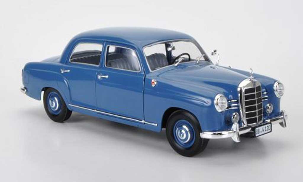 Mercedes 180 1/18 Revell (W120) Ponton bleu Sondermodell MCW limitierte Auflage 1008 Stuck miniature