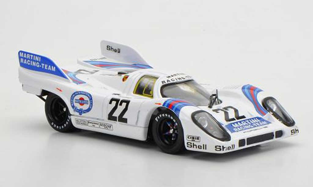 Porsche 917 1971 1/43 Brumm No.22 Martini Racing Team Marko / Van Lennep 24h Le Mans diecast model cars
